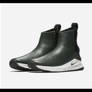 Nike Rivah high premium waterproof sneaker boot.
